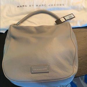 Brand New Smoke Grey Marc Jacobs Satchel